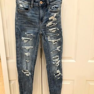 American eagle jeans never worn tags still on
